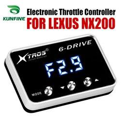 Elektroniczny regulator przepustnicy wyścigi akcelerator wspomagacz dla LEXUS NX200 2008 2019 części do tuningu akcesoria|Elektronicznie sterowane przepustnice do samochodów|   -