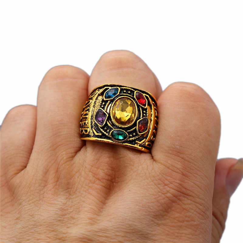ed23d43340cc9 Detail Feedback Questions about Infinity War Thanos Jewelry Infinity ...