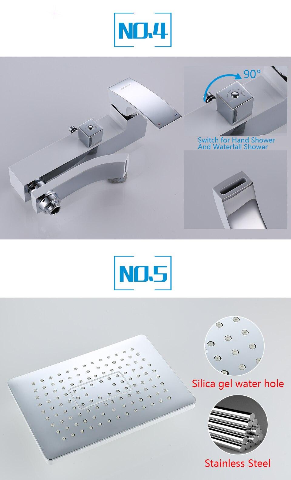 Sistema de chuveiro