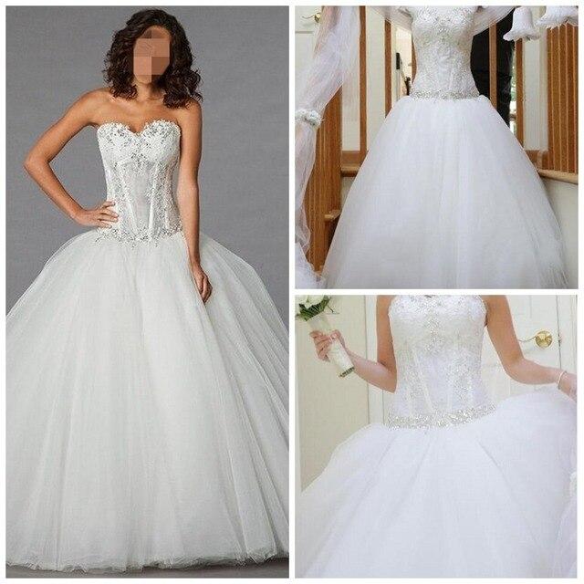 Pnina Tornai Princess Tulle Sweetheart Wedding Dresses Long Sexy ...