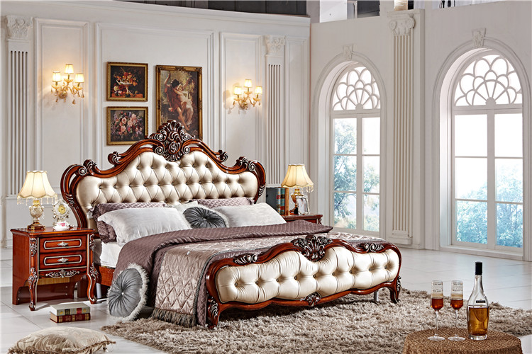 US $980.0 |Fashion bedroom set / italian bedroom furniture set / classic  wood furniture designs-in Beds from Furniture on AliExpress