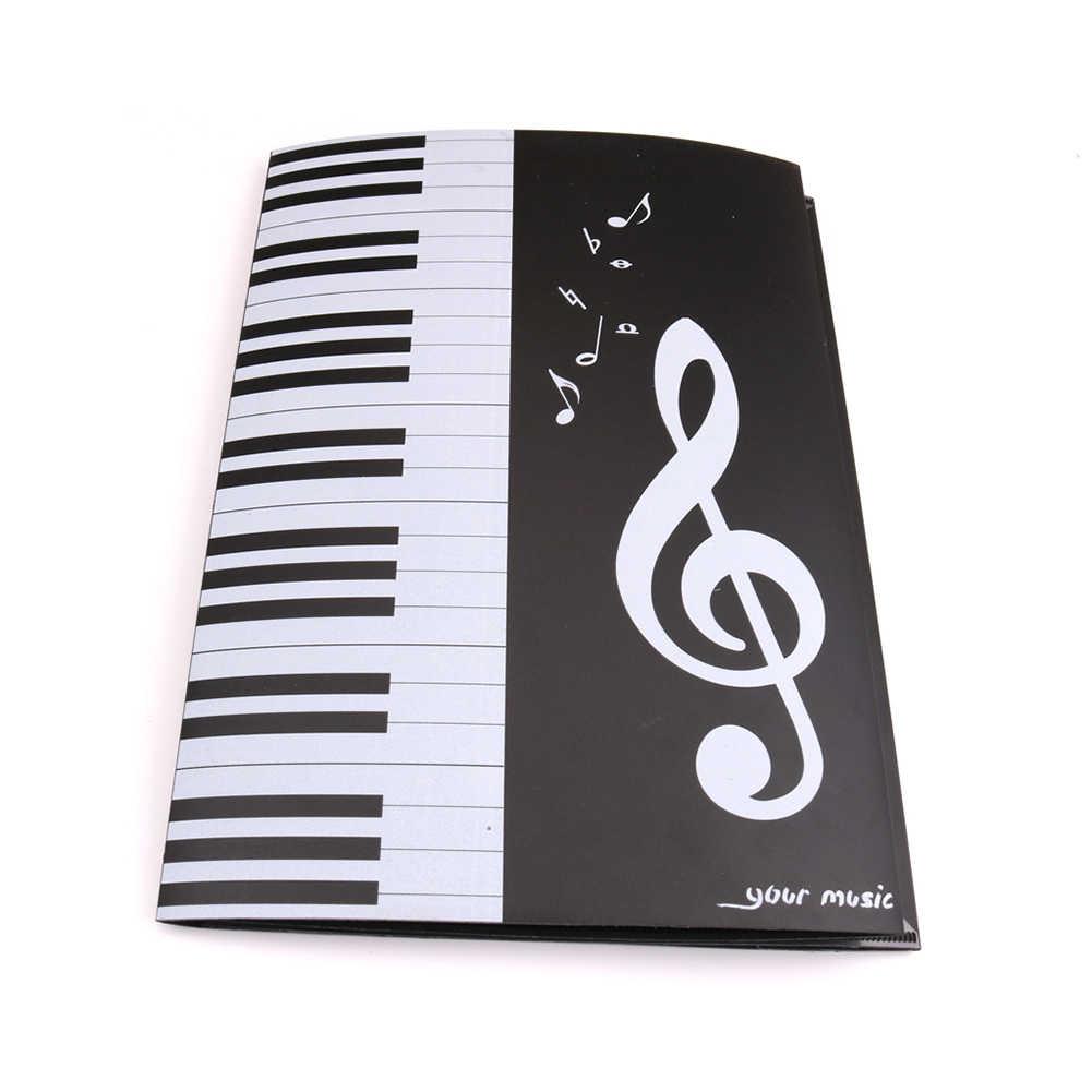 Carpeta de música expansión de la puntuación del Piano carpeta de documentos plegable