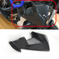 KEMiMOTO For Yamaha MT 07 MT07 Radiator Later Panels Real Carbon Fiber FZ 07 MT 07