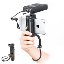 Handheld Smartphone Video Rig ,Camera Stabilizer Universal Tripod Mount Holder  Traveller Stand for most Smartphones/Filmmaker