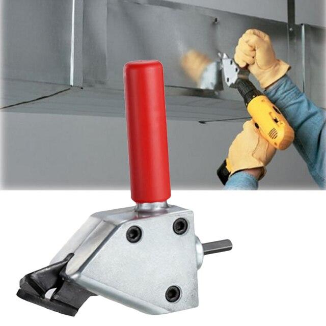 Medium Voltage Cutting Tools : New metal cutting sheet nibbler cutter tool drill