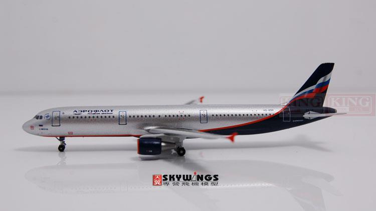 WT4321001 Witty Russian aviation VQ-BOH 1:400 commercial jetliners plane model hobby A321 11010 phoenix australian aviation vh oej 1 400 b747 400 commercial jetliners plane model hobby