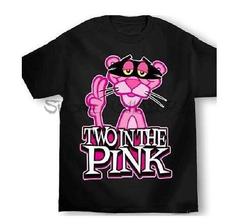 MAFIOSO CLOTHING ENEMY OF  STATE PINK PANTHER TWO IN PINK T SHIRT men black tshirt summer cotton teeshirt