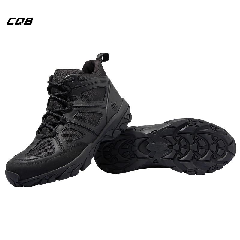 CQB Hiking Sko Udendørs Sko Tactical Støvler Glidende Åndbar Klatring Trekking Sneakers Mænd Jagt Støvler