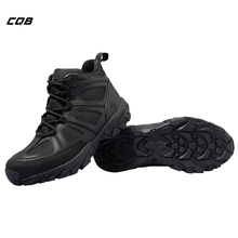 лучшая цена CQB Outdoor Hiking Shoes Walking Men Climbing Shoes Sport Boots Hunting Mountain Shoes Non-slip Breathable Hunting Boots SL0125