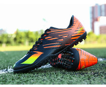 Men Football Boots High Ankle Superfly TF Soccer ShoesMen Professional Training Soccer Shoes TF Futsal Football Boots Outdoor
