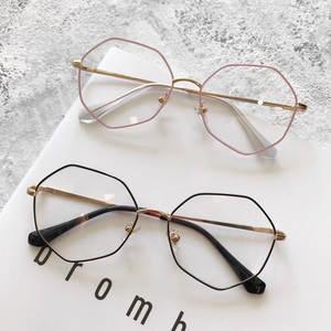8d7c5ac9a2 CORN POPPY metal eyeglasses round glasses frame flat lens