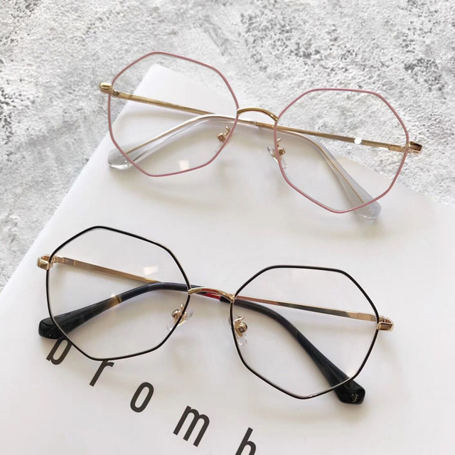 f7c095ee89 Thin metal edge new eyeglasses frame fashionable round men and women  glasses frame restore ancient ways