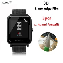 3pcs For Xiaomi Huami Amazfit Bip BIT PACE Lite Youth Watch Smart Band Nano TPU Protective Film Screen Protector Cover Foil картридж aquafilter 10sl fcps20