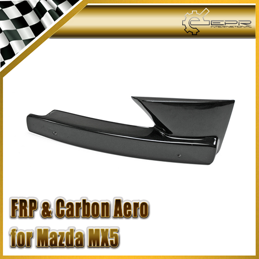 EPR Car Styling For Mazda MX5 ND5RC Miata Roadster FRP Fiber Glass Odula Intake Number Stay Fiberglass Front Bumper Trim