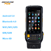 IssyzonePOS PDA POS Android Barcode Scanner 2D Rugged PDA Terminal Bluetooth NFC Camera Wi-Fi GPS Industry Warehouse Management недорого