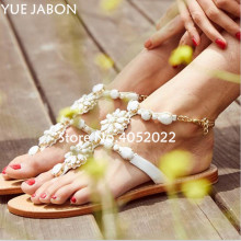 women shoes Women sandals comfort flat sandals Rhinestones summer fash