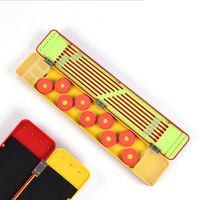 New multifunctional floating fishing line winding plate accessories storage box fishing with scissors fishing tackle