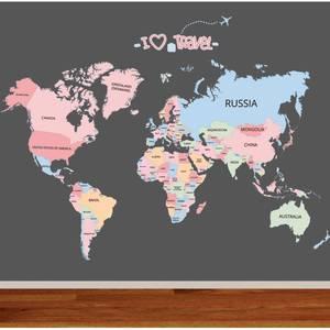 top 10 world map kids room decor brands