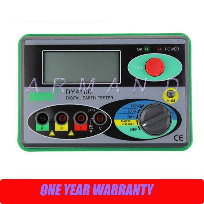 ФОТО DY4100 Digital Ground Resistance Tester