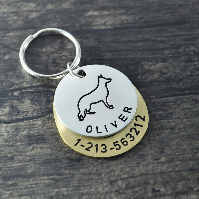 aliexpress com buy personalized dogtags german shepherd dog tag