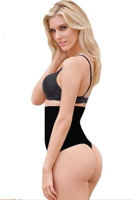 Femme Noire Xl Sexy Butt Lifter Avec Tummy Control Taille Trimmer