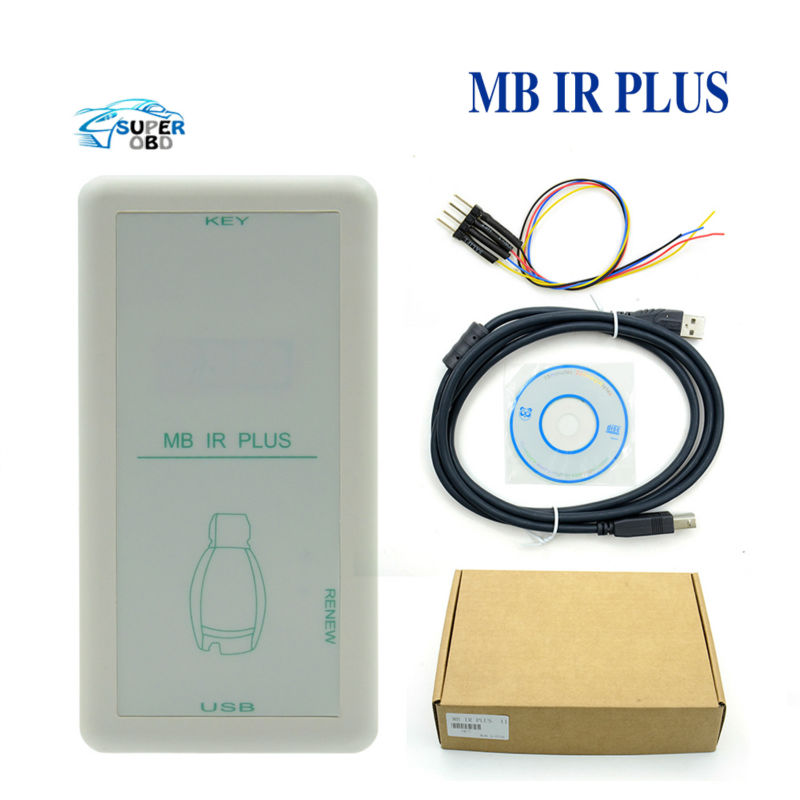 HOT! MB IR PLUS Key Programmer for Mercedes for Benz MB IR Key Programmer MB Key MB IR PLUS with DHL FREE Shipping