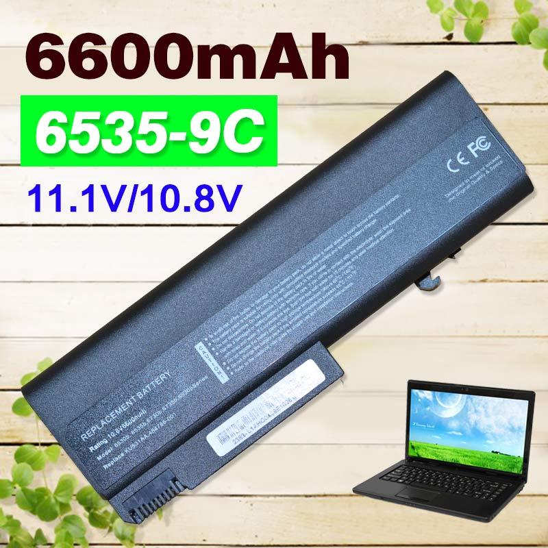6600mAh Laptop Battery For HP EliteBook 6930p 8440p 8440w For ProBook 6440b 6445b 6450b 6540b 6545b 6550b 6555b