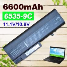 7800mAH Laptop battery for Hp  EliteBook 6930p  8440p  8440w ProBook 6440b  6445b   6450b  6540b  6545b   6550b   6555b 593840 001 laptop motherboard 6440b 6540b 5% off sales promotion full tested