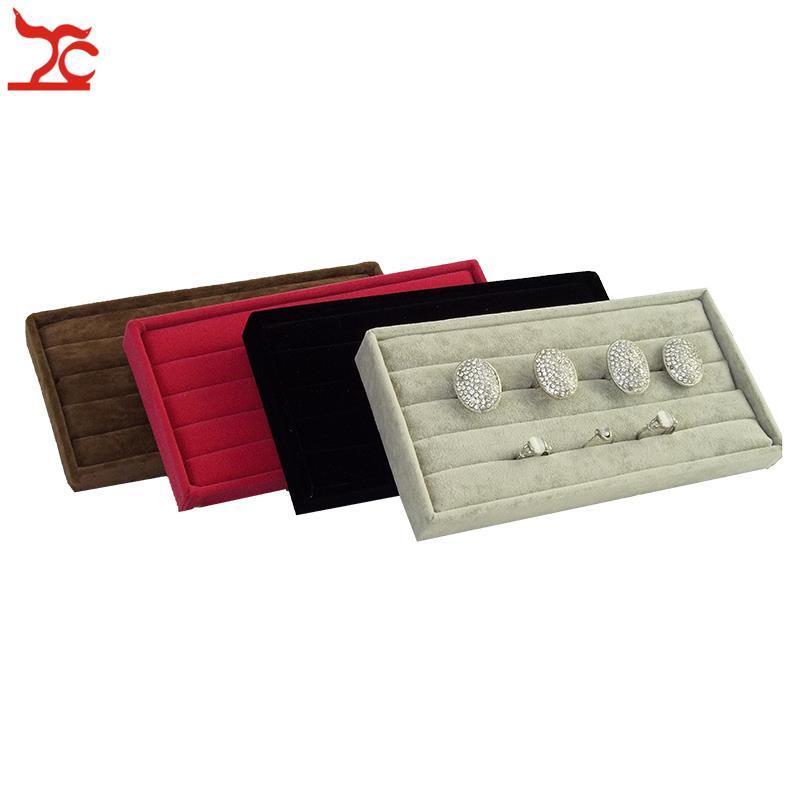 Online Buy Wholesale velvet jewelry tray from China velvet jewelry