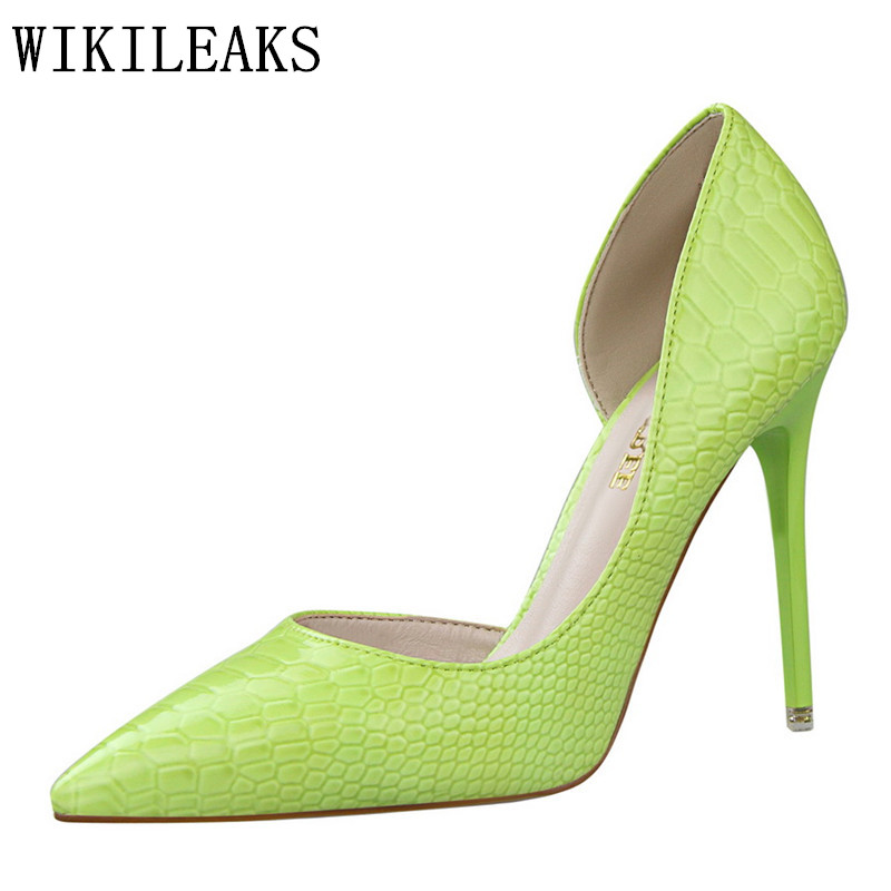 patent leather high heels bigtree shoes woman sapato feminino croco wedding shoes zapatos mujer sexy pumps women italian shoes genuine leather excellent sexy high heels brand women pumps ladies shoes woman chaussure femme zapatos mujer sapato feminino