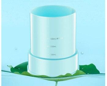 Humidificador de 300 ML, hogar, dormitorio, oficina, aire acondicionado, purificación, mini máquina de aromaterapia, luz nocturna colorida