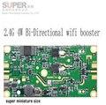 4 W módulo de transmisión WLAN compatible w/ZigBee, Bluetooth PCBA dúplex por división de tiempo método de WLAN amplificador de señal repetidor
