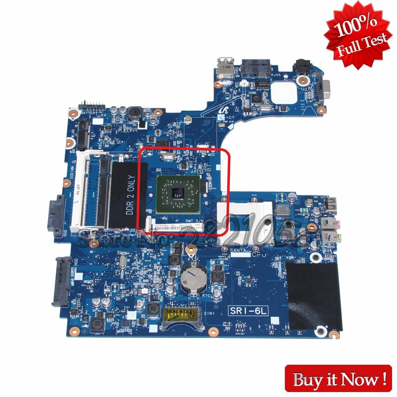 NOKOTION Main Board For Samsung NP-R60 R60 laptop motherboard BA92-05127A BA92-05127B DDR2 RS600ME 100% test nokotion ba92 05907b ba92 05907a notebook pc motherboard for samsung r505 main board sockets1 ddr2 ati free cpu
