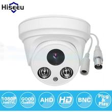 Hiseeu AHDH 1080 P Семьи Купольная Безопасности Аналоговый AHD CCTV Камеры крытый ИК Ночного VisionPlug и Играй freeshipping AHCR612