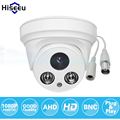 Hiseeu ahdh 1080 p família mini dome segurança analog ahd cctv indoor camera ir cut noite visionplug and play freeshipping ahcr612