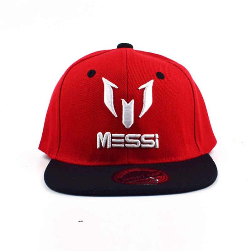 87abd6b8163 ... children Messi snapback hat messi big bone embroidery baseball cap  kids  hats child caps football ...
