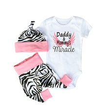 Newborn Baby Clothing Sets Toddler Babes Outfits Pajamas Wear Sport Suits
