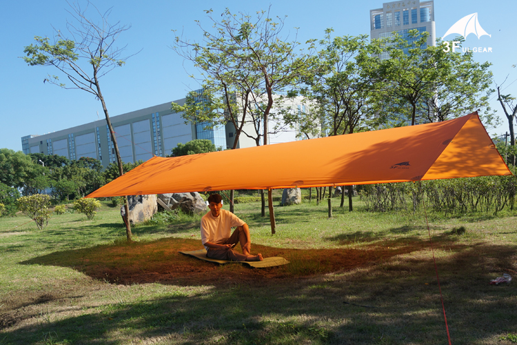 3F Ul Gear Tarps 15D Silicon Tarpe Ultralight Sun Shelter Beach Tent Pergola Awning Canopy Taffeta Tarp Camping Sunshelter outdoor camping hiking automatic camping tent 4person double layer family tent sun shelter gazebo beach tent awning tourist tent