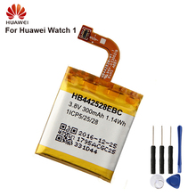 Huawei HB442528EBC Phone Battery For Huawei Watch1 Watch 1 300mAh Original Battery + Tool original replacement battery huawei hb442528ebc for huawei watch1 300mah