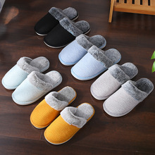 Women Home Slippers Winter Warm Indoor/floor Shoes Bathroom Plush House Slippers Fur Comfortable Slip on Women Shoes Botas Mujer mntrerm 2018 winter warm indoor slipper for women s at fashion home slippers warm plush household shoes chinelos femininos botas