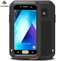 LOVE MEI For Samsung A5 2017 Case Aluminum Metal ShockProof Luxury Phone Cases For Samsung Galaxy