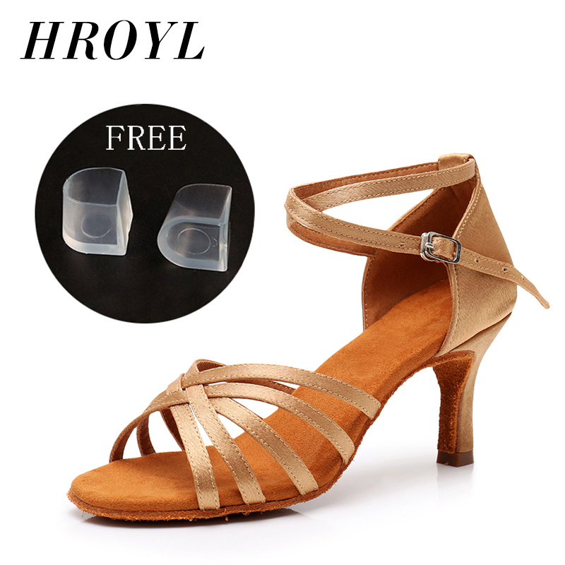 New Latin Dance Shoes For Women's Girl's Lady's Ballroom Tango Salsa Party Dancing Shoes Soft High Quality Brand Wholesale