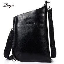 DANJUE пояса из натуральной кожи для мужчин сумка итальянский стиль сумки  через плечо новый бренд Мужская сумка для отдыха вмест. 59adc98eb6d