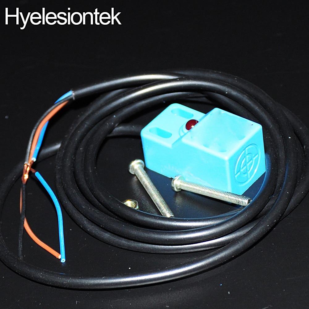 18x18x36 4mm Sensing SN04 N NPN NO 3 Wire DC Inductive Proximity ...