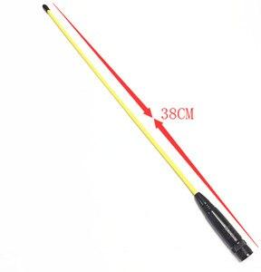 Image 2 - Yellow OPX771 UV Dual segment Soft Antenna for IC V8, IC V80, IC V82, IC U82, IC W32
