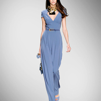 Direct Selling Sashes Regular Playsuit Rompers Womens Jumpsuit New Jumpsuit Summer Fashion Slim Silk Female Xia Changku