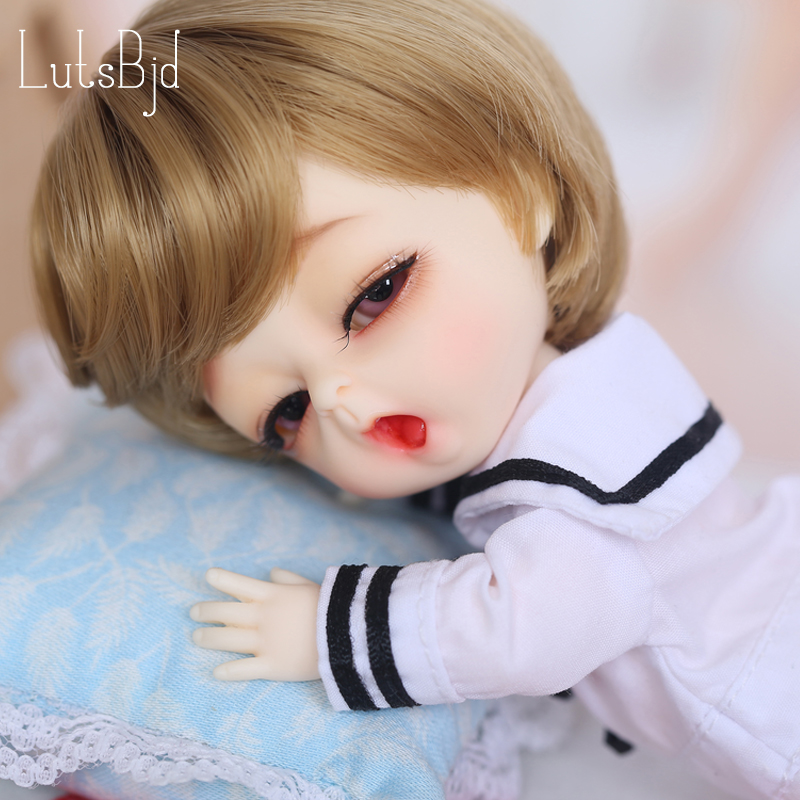 Lutsbjd Luts Tiny Delf Louis fullset 1/8 BJD Doll Resin Figures Luts AI YOSD Kit Doll Toys napi yosd alieendoll delf jiont free shipping fairyland littlefee reni bjd resin figures luts ai yosd volks kit doll not for sales bb soom toy gift iplehouse