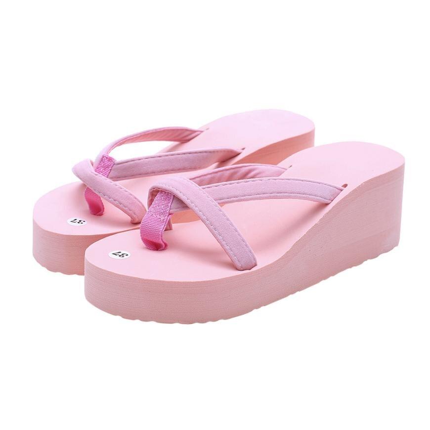 WD13 sapatos mulher f lábio flops Cunha Flip Flops Praia Chinelo Moda Verão das Mulheres