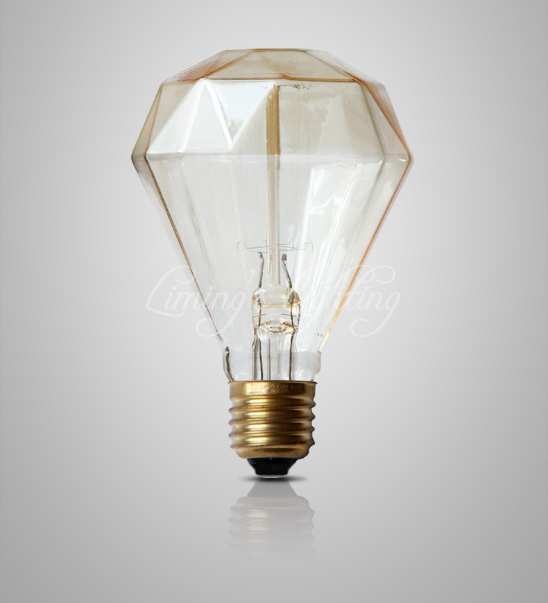 Great G95 Diamond Edison Bulb 40W 220v Antique Vintage Lamp Light Incandescent  Bulb Edison Light Fashion Incandescent Edison Bulb In Incandescent Bulbs  From ...