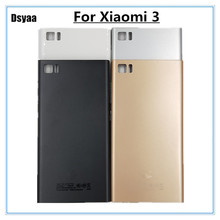 5 Inch for Xiaomi Mi3 M3 Mi 3 Back Battery Cover Door Rear Housing Case  Replace 12b11c9d29